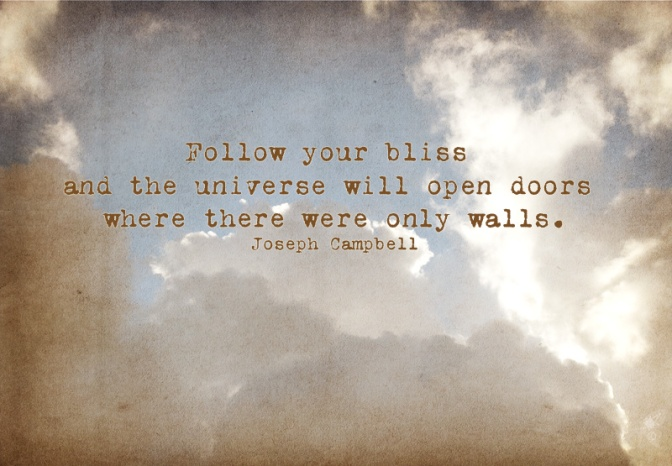 Day 99 & 100 of 100 – Follow YOUR Bliss.